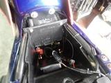 ZRX400H号用新品バッテリー交換
