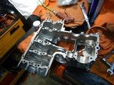 21号機腰下組み立て準備部品整備 (2)