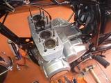 398コンプリートエンジンオイル漏れ修理 (1)