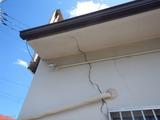 地震被害チェックと台風被害 (2)