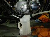 CB400F中古車両キャブレター調整エンジン始動チェック210904 (3)