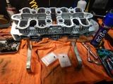 京都H号CB550Fシリンダーヘッド内燃機加工完了組立て (2)