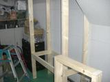 収納棚製作