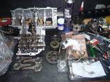 398、1号機エンジン組立て (3)