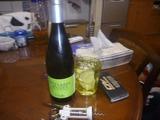 おフランス製ワイン第二ラウンド白ワインと対戦開始