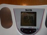 190408今朝の体重