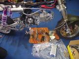 カスタムモンキーエンジン組立て (4)