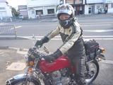 寒いのに名古屋からベホリがご来店 (1)