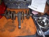 嵐のヨンフォアエンジン組立て下拵え (4)