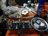 21号機キャブレーター再分解部品交換 (1)