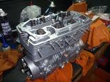 N様500cc化エンジン腰上組立て (1)