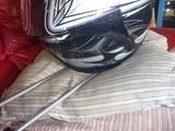 サーキット用ヘルメットホルダー製作 (3)