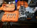 21号機エンジン組み立て準備
