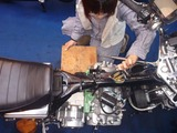 銀ちゃんレーサー用エンジン搭載 (2)