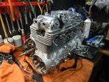 CB400国内398ccCP25号機用エンジン仕上げ (8)