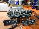 高槻O様CB400キャブレター分解部品交換210616 (1)