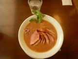 麺麓にて遅めの昼食 (1)