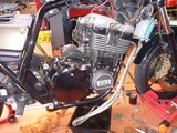 XJR400Rエンジン交換 (4)