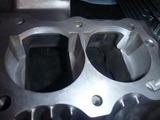500cc化エンジン内燃加工仕上がり (1)