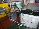 コムアキ号レギュレーター制御チェックと調整 (8)