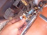 スーパーカブウインカーリレー修理 (1)