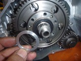 まっきーレーサー用乾式クラッチオイルシールスペーサー (1)