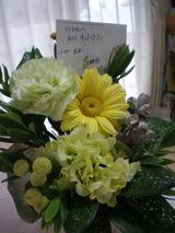 6月25日お供え花冬獅朗ママよりP6250147