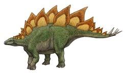 【ステゴザウルス】小学生に5番目くらいに人気な恐竜