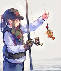 釣りガールいいね