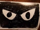 黒猫マスク2