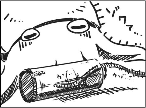 ウミケムシトラップ