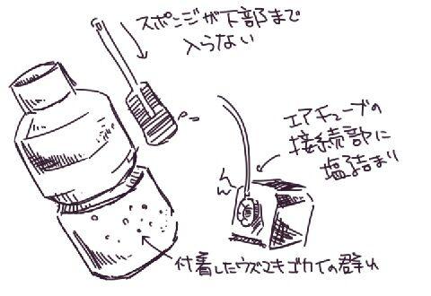 海道達磨のメンテナンス