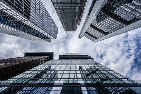 worms-eye-view-of-high-rise-building-3646913