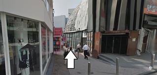 渋谷香水パルコ側入口