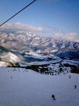 白馬八方尾根スキー場(クリックで拡大)