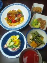 酢鶏の夕食816