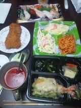 握り寿司の夕食815