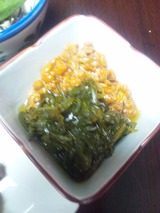 めかぶ納豆
