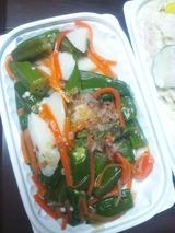オクラと山芋のサラダ