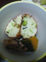 枝豆入り魚河岸揚げとかつお生利節の煮物