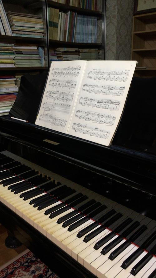 ピアノを習い始めました