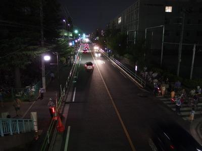 夜の江戸街道