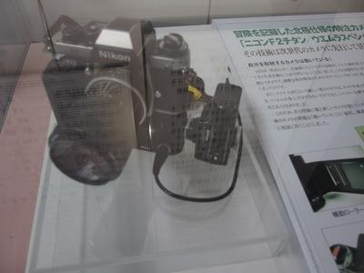 植村氏遺品のカメラ