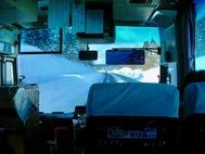雪の秋田道