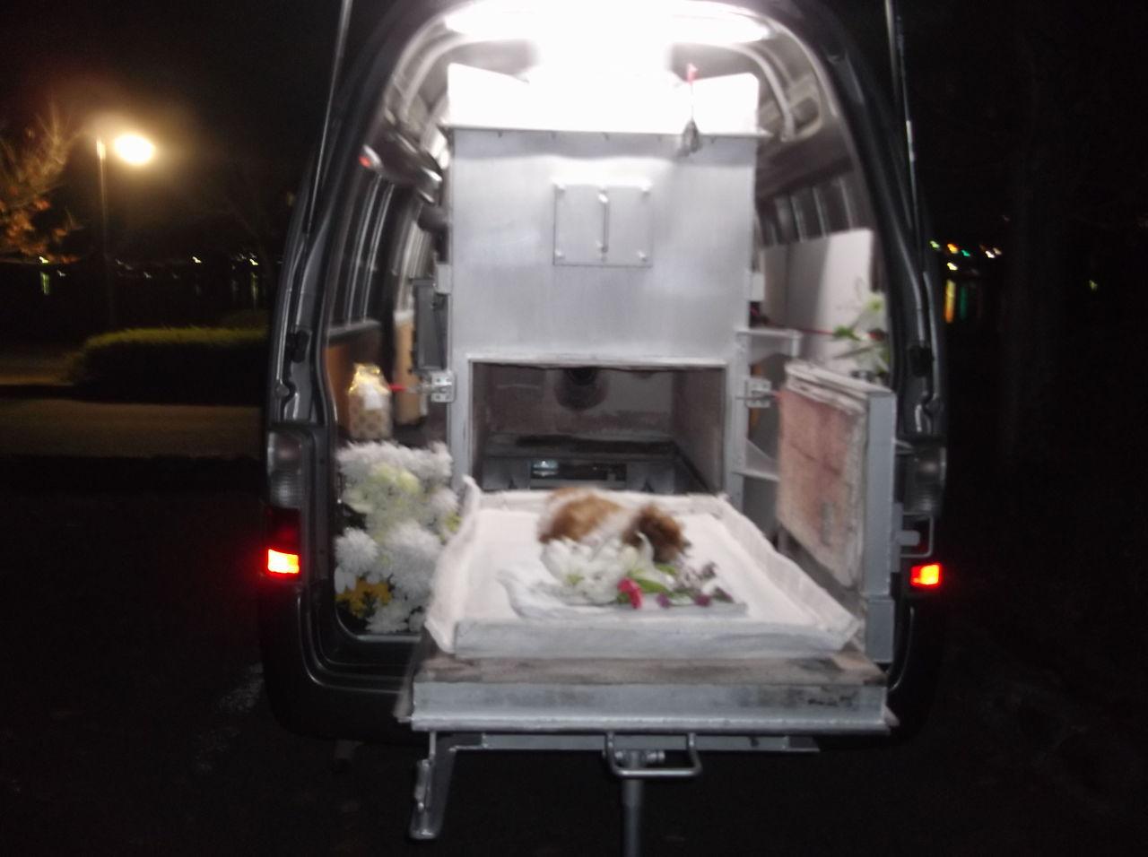 車でペットの火葬業を始めたいのですが、中古の軽 …