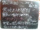 2011/1/23森下