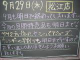 2011/9/29松江