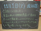 2011/11/1松江