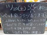 2010/11/20松江