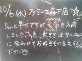 2010/10/6森下